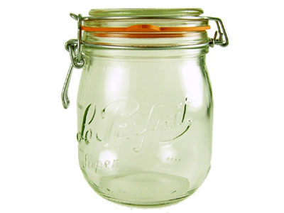 Love jam jars | Le Parfait Jars Not just a clip top storage jar - the superior heavy weight preserving jar