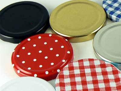 Love jam jars | Jam Jar Lids Twist off spare and replacement jam jar lids