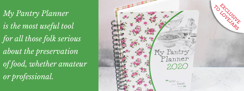 My Pantry Planner by Rosemary Jameson