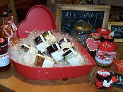 Love jam jars | Point of Sale Gift packaging and display goodies