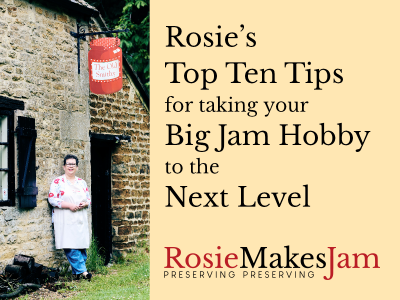 Love jam jars | Rosie's Top Ten Tips Rosie's Top 10 Tips for turning your hobby into a business