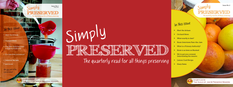 Simply Preserved - The quarterly read for all things preserving