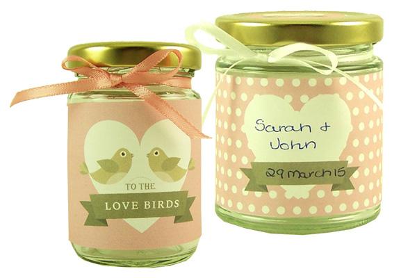 Wedding Jar Wraps