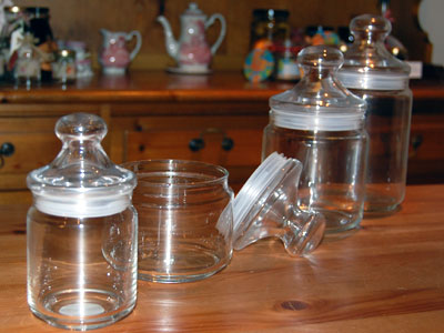 Club Storage Jars
