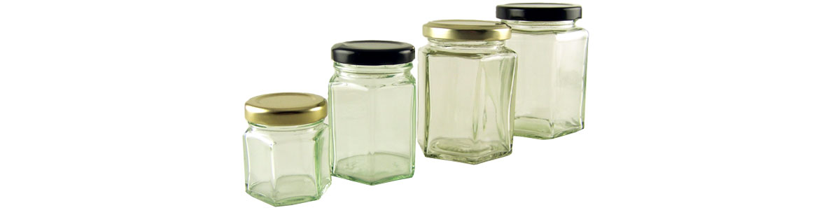 Hexagonal Jars