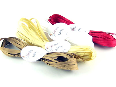 Ribbon Raffia String Ties