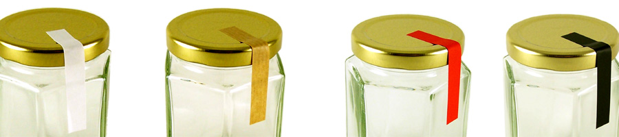 Tamper Proof Jar Strips