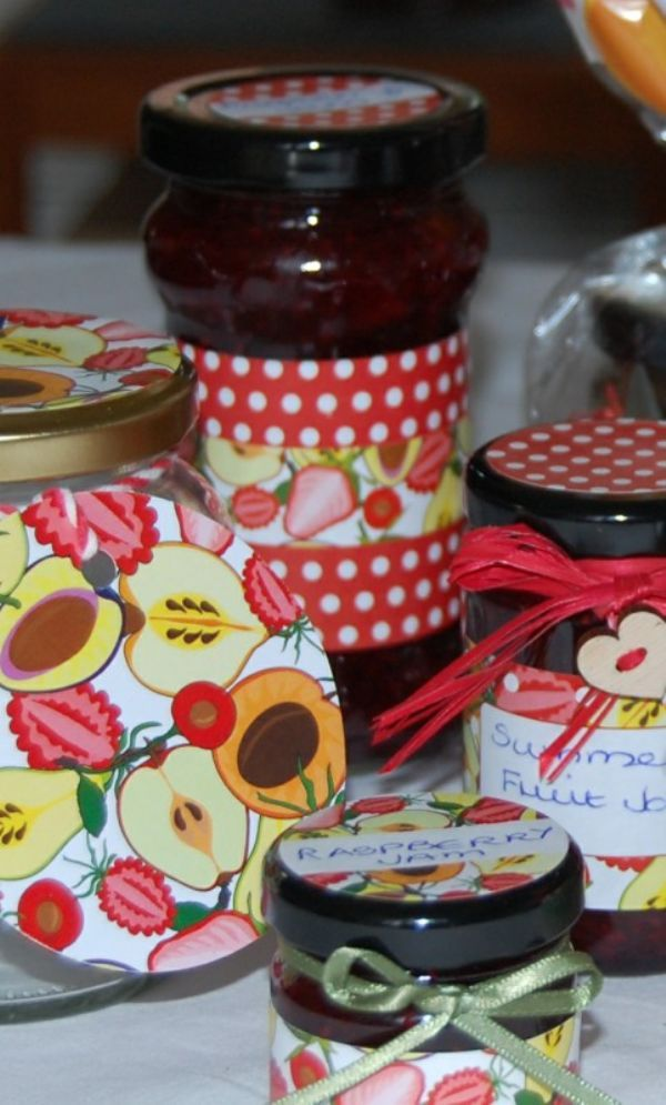 Jam Jars Round Glass Chutney 212ml (x80) 2