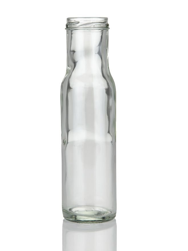 Glass Bottle Round Sauce 250ml