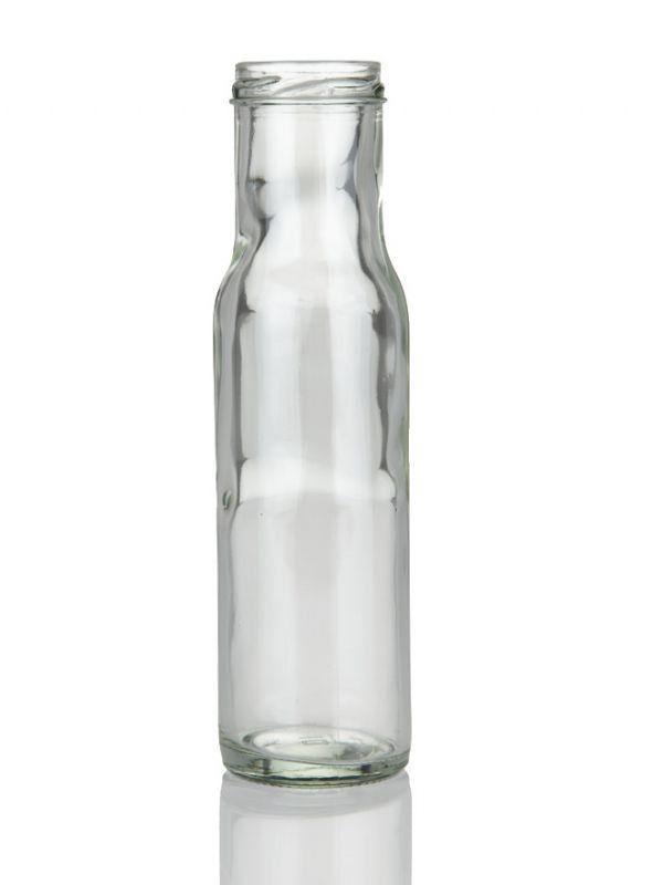 Glass Bottle Round Sauce 250ml