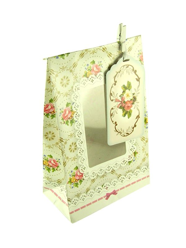 Gift Bag English Posy