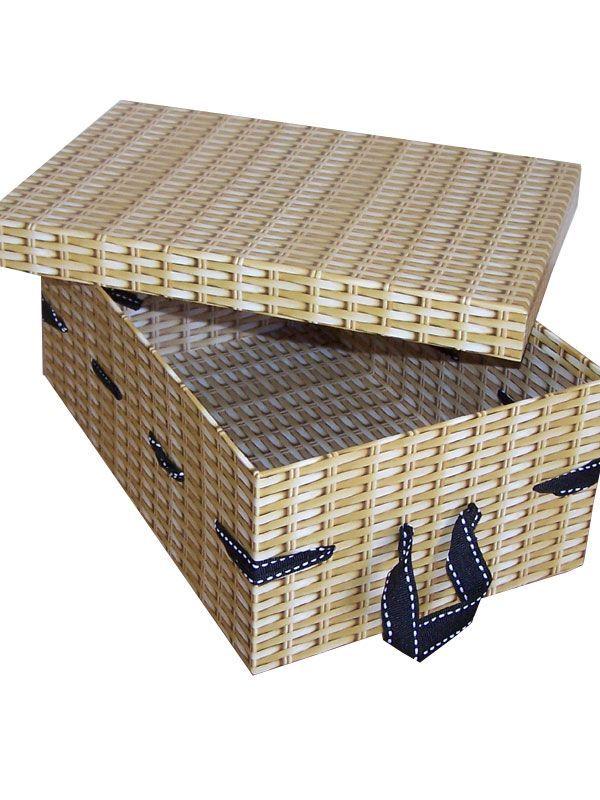 Card Hamper Oblong Box & Lid