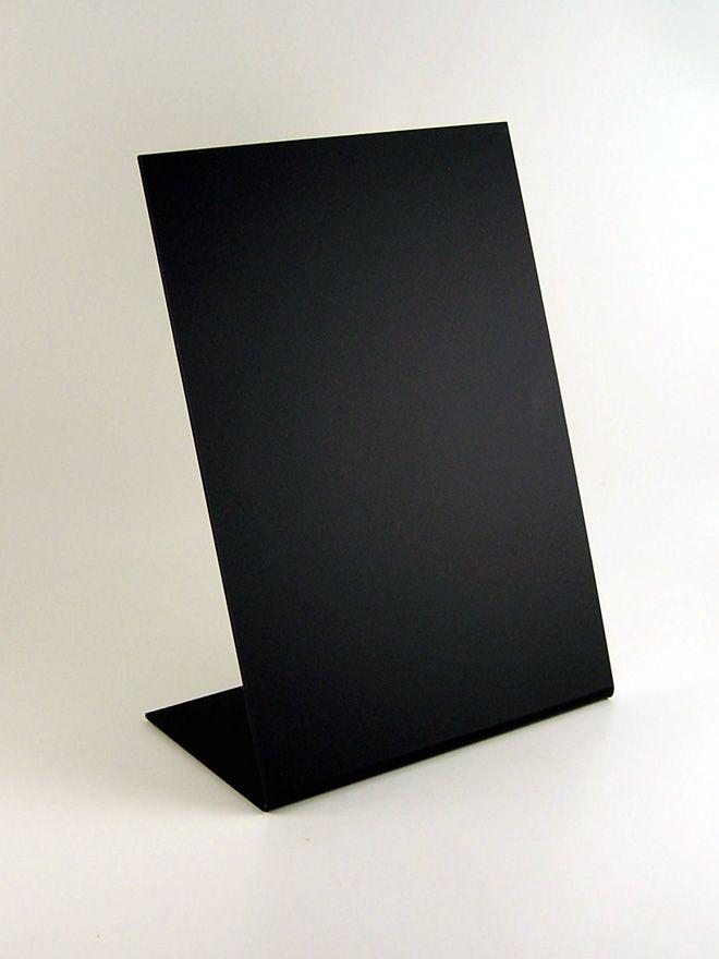 Blackboard 'L' Stand A5