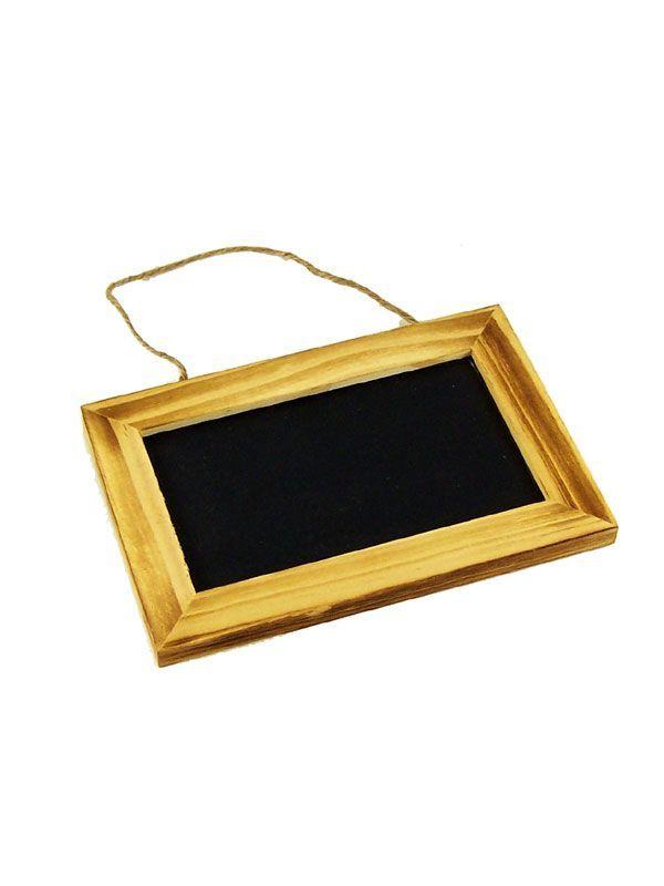 Blackboard Wooden Framed 6x4\