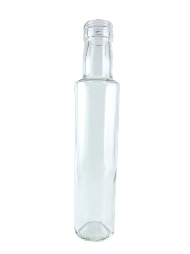Glass Bottle Cordial Tall 250ml