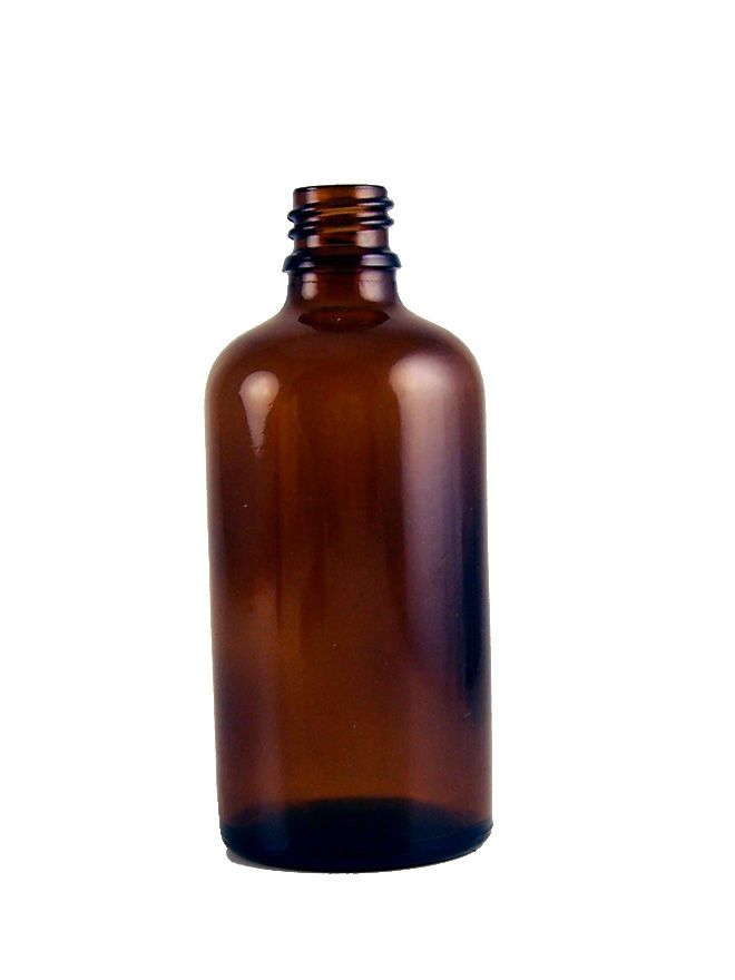 Aromatherapy Amber Glass Bottle 100ml