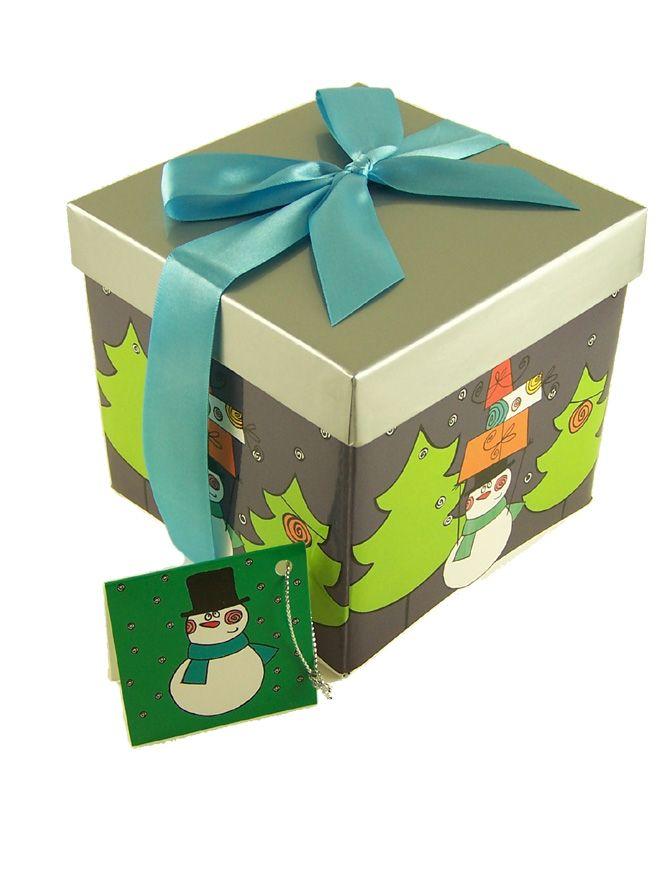 Gift Box Christmas Trees small