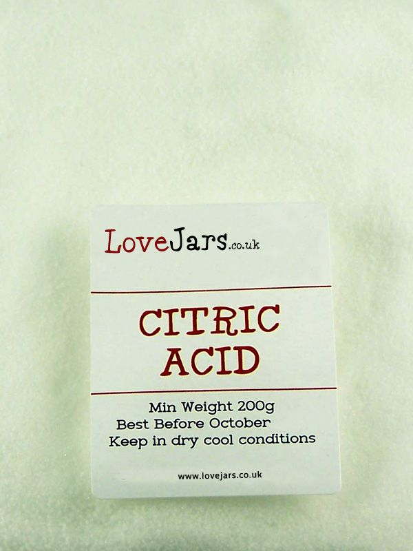 Citric Acid 200g