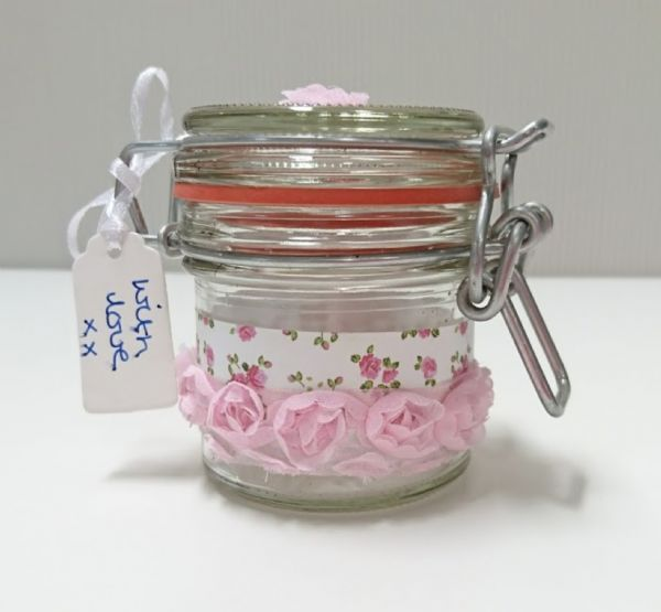 Jar Wraps - Summer Frocks Small Sprig 3