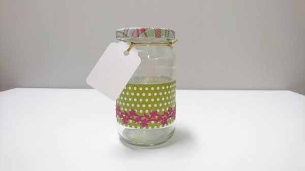Jar Wraps - Summer Frocks Small Sprig 7