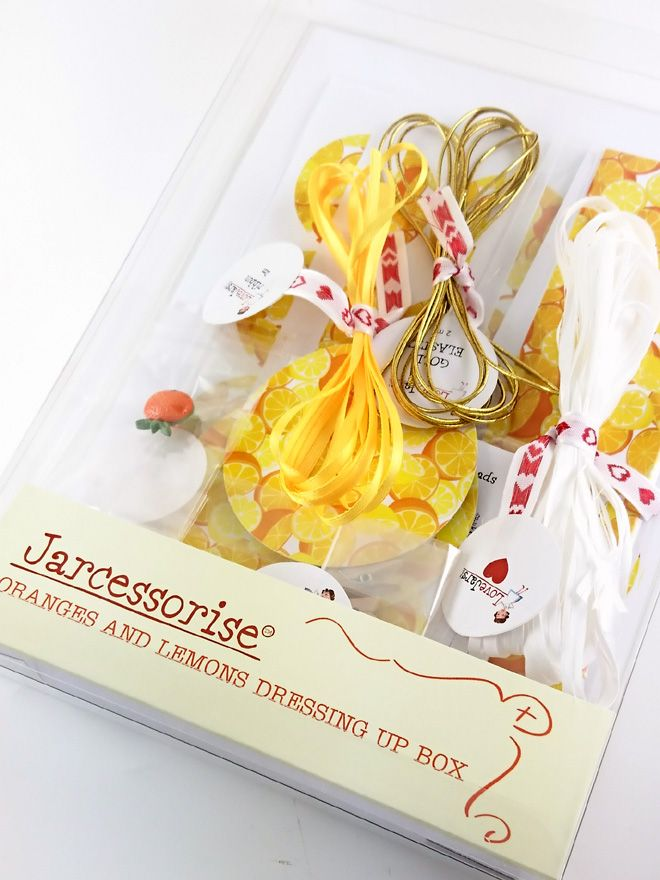 Oranges and Lemons Dressing Up Box