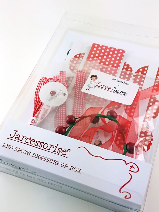 Red Spot Dressing Up Box