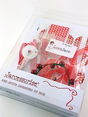 Love jam jars | - Red Spots Dressing Up Box