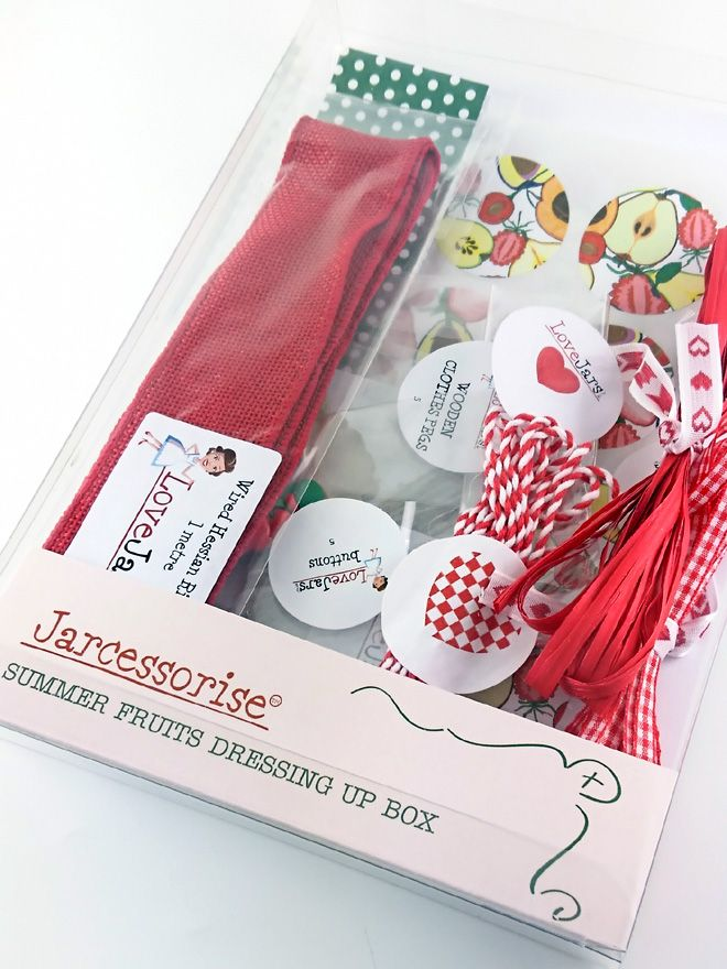 Summer Fruits Dressing Up Box