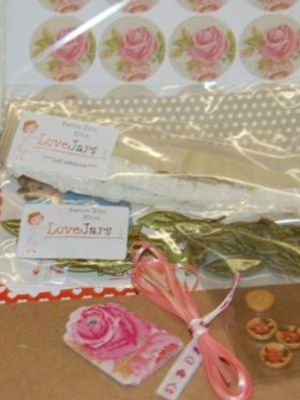 Vintage Rose Dressing Up Box