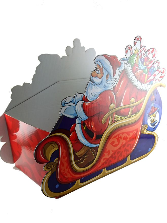 Gift Box Traditional Christmas Sleigh