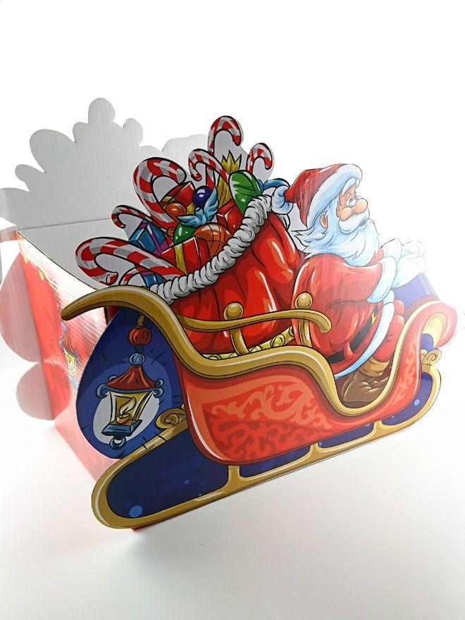 Gift Box Santa's Sleigh