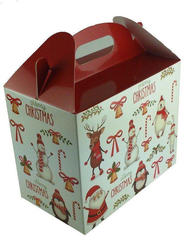 Carry Box 2 x 12oz jars Merry Christmas (5)