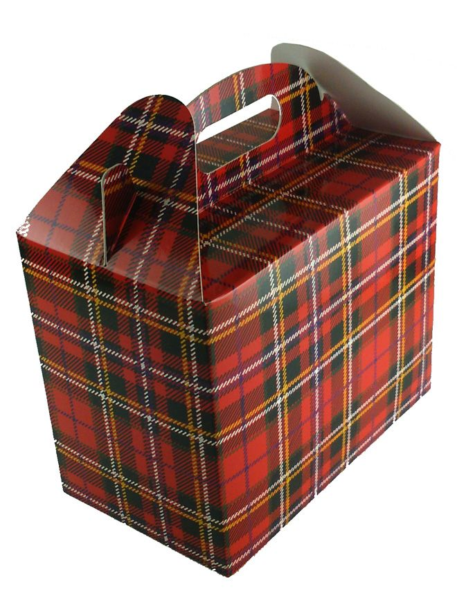 Carry Box 2 x 12oz jars Tartan (5)