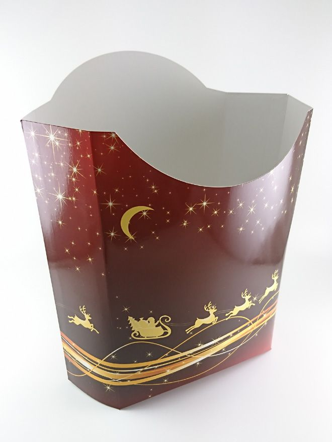 Gift Pouch Sleigh and Stars