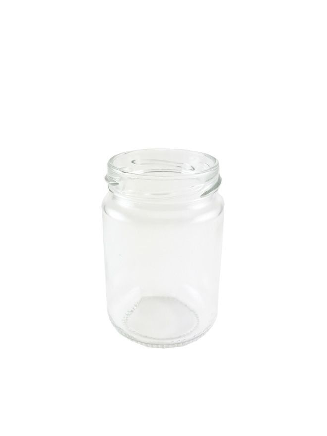 Jam Jars Round Glass 156ml (x135)