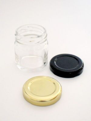 Jam Jars Round Glass 41ml