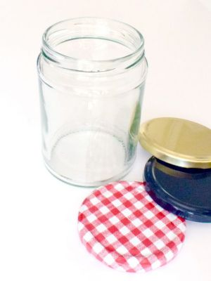 Jam Jars Round Glass 500ml