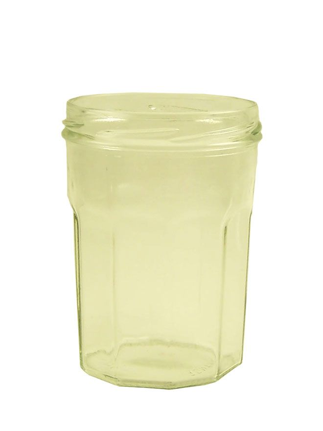 Jam Jars Facetted Glass 16oz/385ml (x48)
