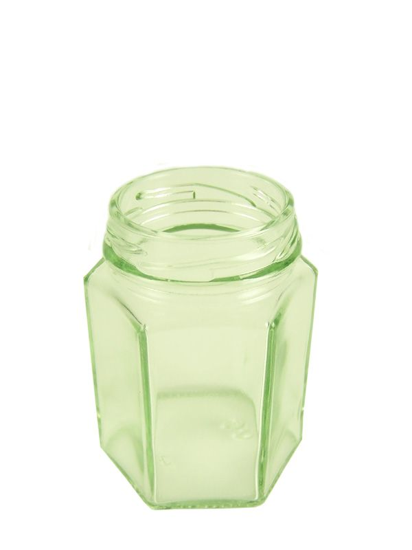 Jam Jars Hexagonal Glass 110ml (72)