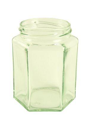 Love jam jars | Jam Jars Hexagonal Glass 280ml/12oz (x15) Pack 15