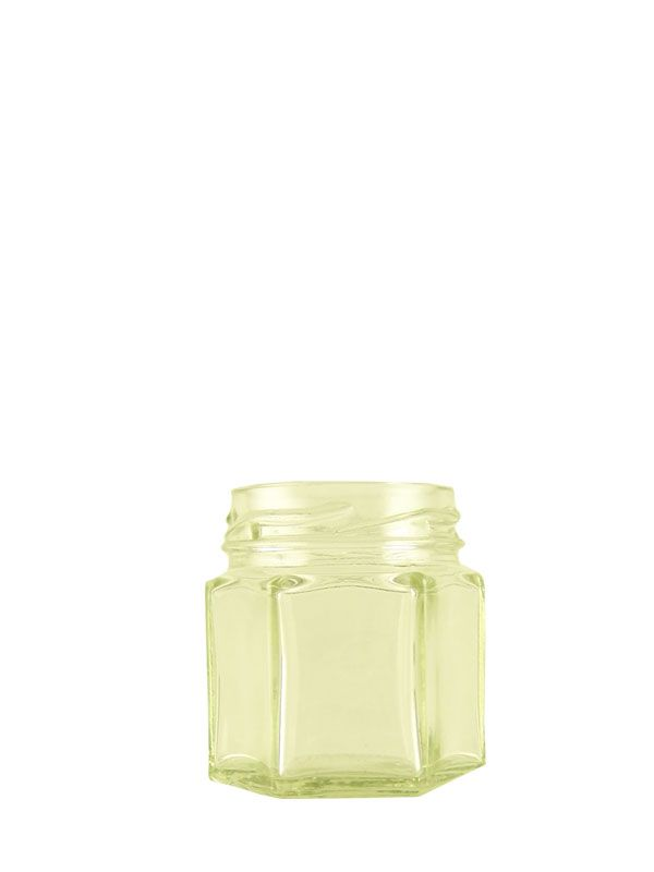 Jam Jars Hexagonal Glass 45ml (x234)
