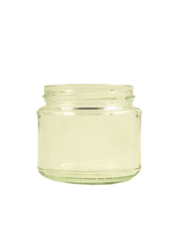 Jam Jars Round Glass 200 Lavoro (x96)