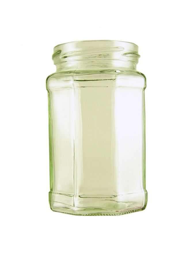Jam Jars Octagonal Glass 280ml/12oz Pallet