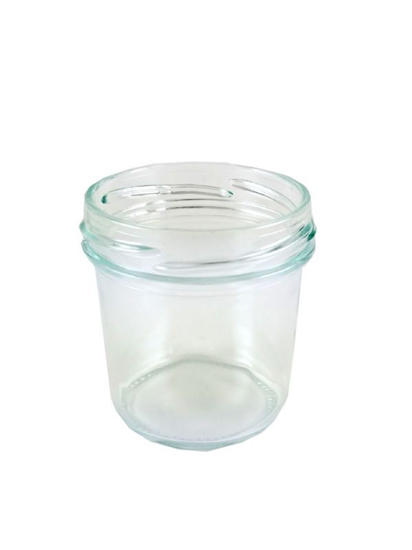 Jam Jars Round Glass Bonta 120ml 1