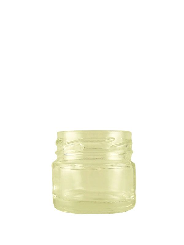 Jam Jars Round Glass 28ml (231)