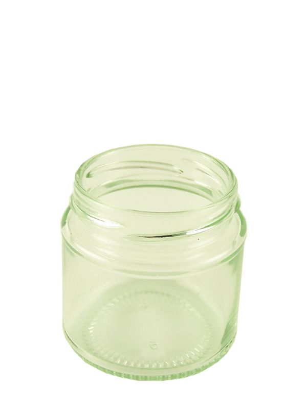 Jam Jars Round Glass 125ml (x22)