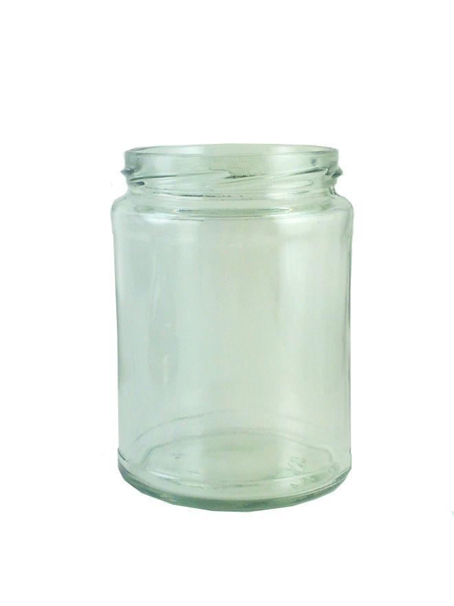 Jam Jars Round Glass 500ml (x36)