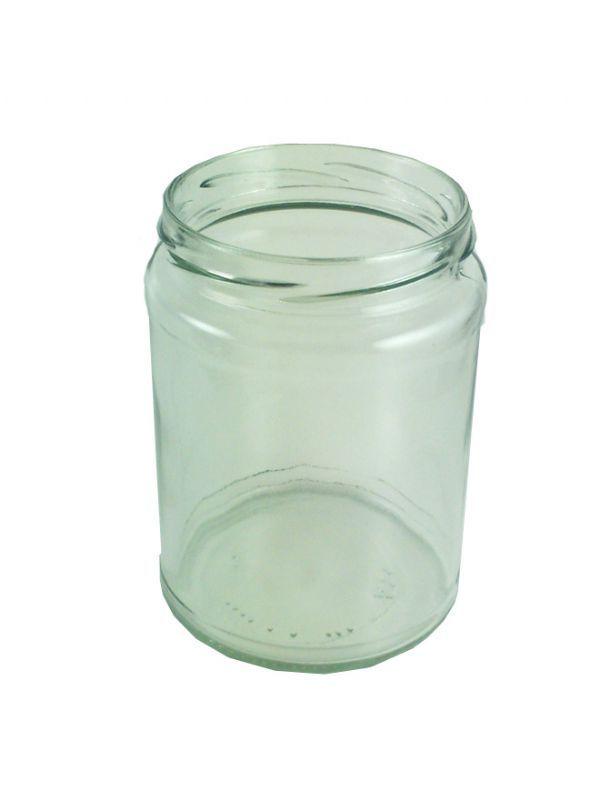 Jam Jars Round Glass 500ml (x36) 2