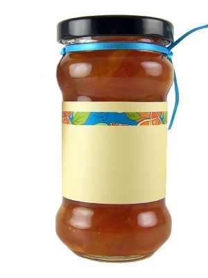 Love jam jars | Jar Wraps - Mixed Citrus Stripe Each