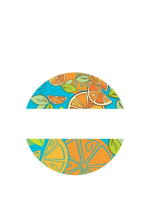 Lid Labels 40mm Mixed Citrus 1